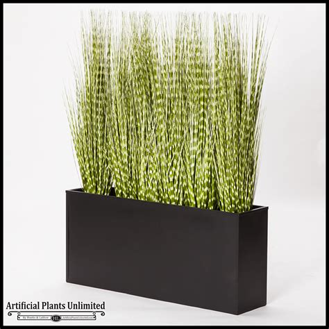 artificial grass in large indoor planters planters unlimited