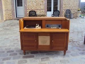 meuble ancien radio clasf With meuble 33 tours