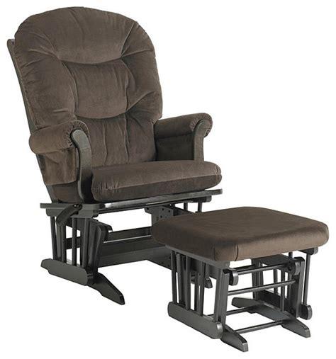 dutailier glider rocker and ottoman dutailier ultramotion hardwood reclining glider and
