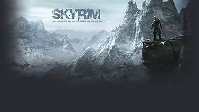 Skyrim Wallpapers Desktop Backgrounds Elder Scrolls Background