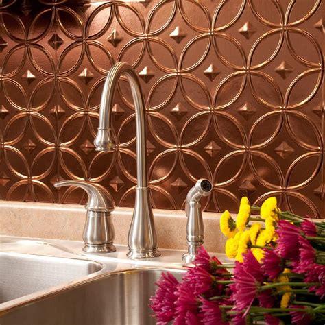 decorative kitchen tile backsplashes fasade 24 in x 18 in rings pvc decorative backsplash 6502