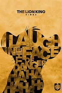 König Der Löwen Tapete : lion king typogrrraphy poster designs calligraphy pinterest der k nig der l wen l we und ~ Frokenaadalensverden.com Haus und Dekorationen