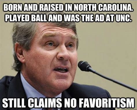 North Carolina Meme - john swofford s presence obviously hurting the acc statefans nation statefans nation
