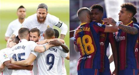 GOLES Barcelona vs. Real Madrid EN VIVO: Federico Valverde ...