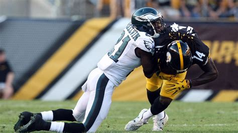steelers  eagles   quarter score updates