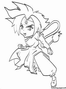 Ray Kon Beyblade Coloring Page Coloring Pages