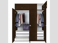 Alta Tall Wardrobe Closet Package 6 Drawer Wardrobe