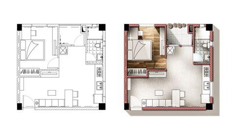 architecture plans architecture plan render by photoshop loversiq