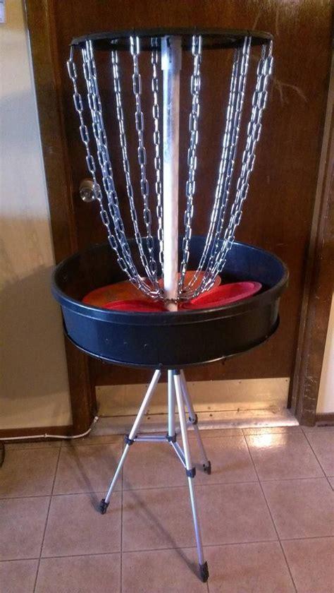 attempt   portable disc golf basket breaks