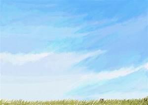 Blue Sky Minimalist Painting Painting by Eliza Donovan
