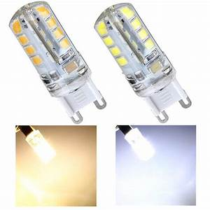 Ampoule Led G9 Blanc Froid : 2 8w g9 220v 32 cms 2835 blanc froid de l 39 ampoule chaud ~ Melissatoandfro.com Idées de Décoration