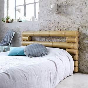 Tete De Lit Bambou : achat tete de lit en bambou tetes de lit balyss chez tikamoon ~ Teatrodelosmanantiales.com Idées de Décoration