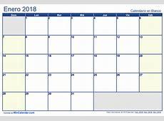Calendario 2018, más de 150 plantillas para imprimir y