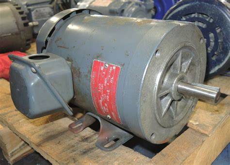 General Electric Ac Motor by General Electric Ac Motor 1 5 Hp 230 460 Volt Mod