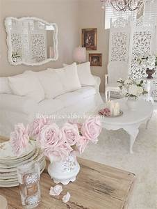 1510 best shabby chic vintage images on pinterest With decoration salon style romantique