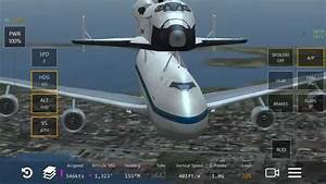 Infinite Flight 747 SCA Nasa gameplay plane simulator ...