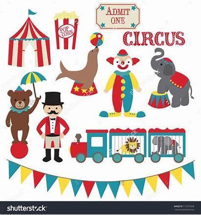 Circus Clip Vector Clipart Shutterstock