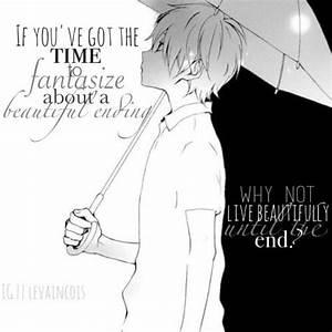 Image via We He... Anime Boy Quotes