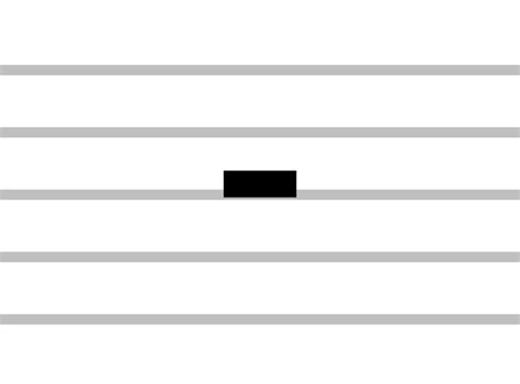 Rest symbols and corresponding note values used in music notation. Types of Rests in Music: Whole, Half and Quarter
