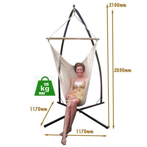 Standard Hammock Dimensions by Steel Hammock Chair Stand Heavenly Hammocks
