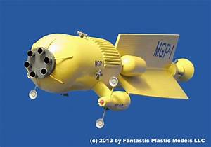 Mars Gravity Probe 1 by Fantastic Plastic Models