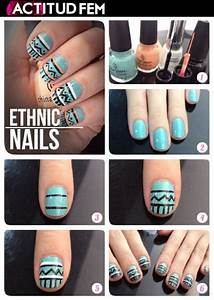 Top 10 DIY Easy Nail Ideas - Top Inspired