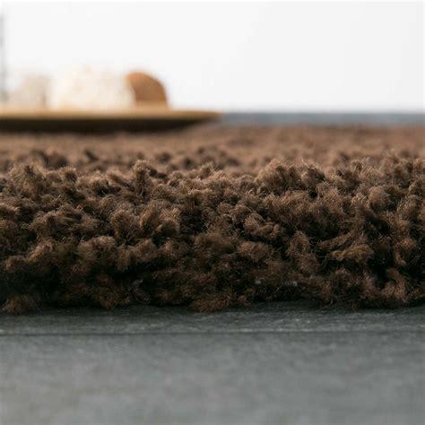 flokati teppiche teppich hochflor shaggy teppiche langflor braun wohnzimmer