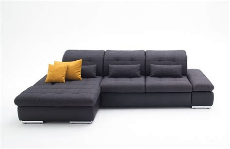sectional sofa left arm chaise alpine sectional sleeper sofa left arm chaise facing