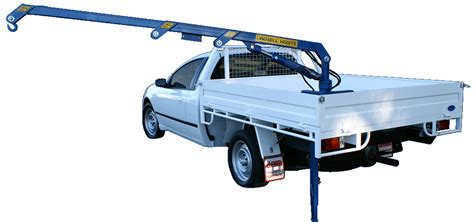 hydraulic ute crane