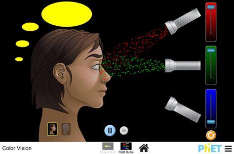 color vision color vision photons monochromatic light white light