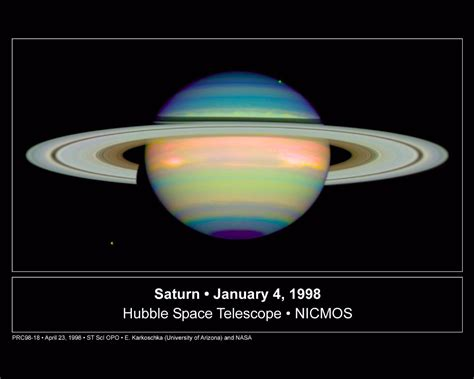 Images of Saturn and All Available Satellites