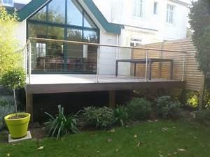 terrasse bois effet pont de bateau vannes baden With eclairage pour terrasse en bois exterieur 0 terrasse bois composite sur pilotis vannes morbihan