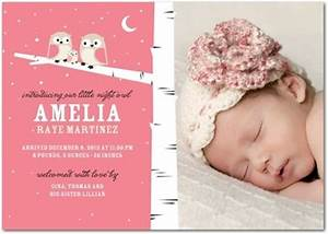 birth announcement ideas Rowan Olivia