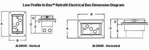 Arlington Industries Inbox U2122 Retrofit Electrical Boxes