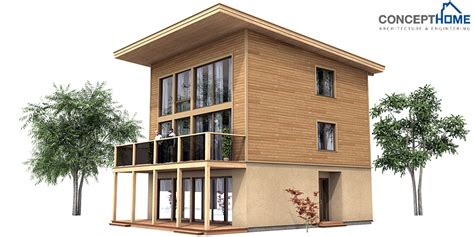 small contemporary house plans contemporary house plans small modern house plan ch99