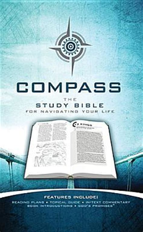 compass  study bible  navigating  life  anonymous reviews discussion bookclubs
