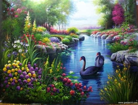 Paintings Of Nature Scenery