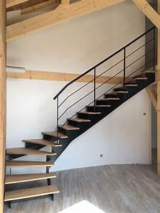 Metalinov, métallerie et serrurerie en Haute Savoie escaliers métalliques (74)