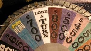 Homemade Wheel Of Fortune 56