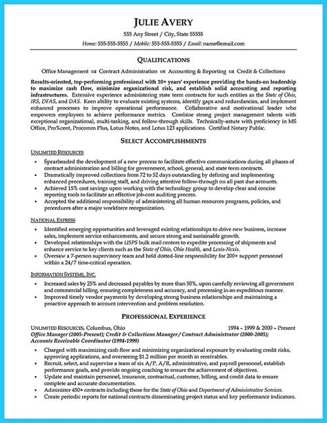 Resume Writing Business by Appealing Formula For Wonderful Business Administration Resume