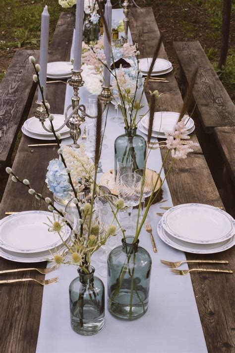 rustic italian wedding styling for a bohemian wedding