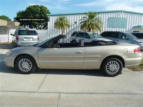 2005 Chrysler Sebring Gas Mileage by 2005 Chrysler Sebring Convertible 4cylinder Gas Saver Runs