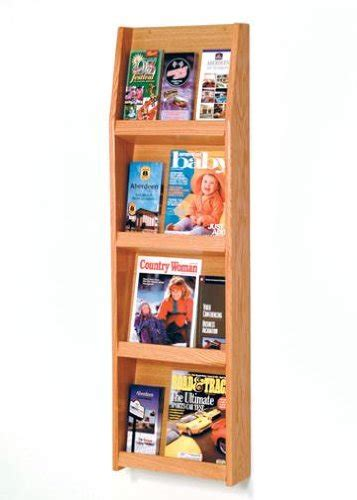 wooden mallet ld  wall mounted brochure holder