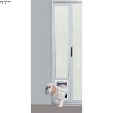 Pet Door For Patio And Sliding Doors - patio panel pet door cat sliding glass aluminum large