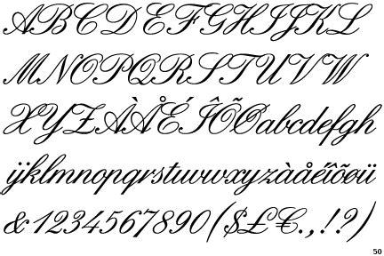Lettre Calligraphie Pour Tatouage