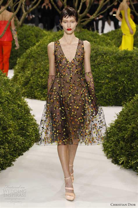 christian dior springsummer  couture wedding inspirasi