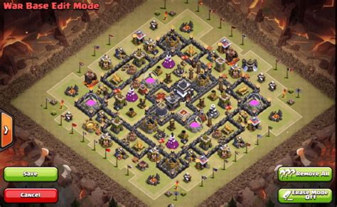 9 epic th9 war base 5 epic th9 war bases anti 2 cocbases 9 ep