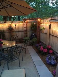 Popular, Small, Backyard, Patio, Design, Ideas, 10