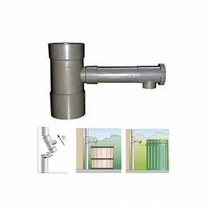 Robinet Pour Récupérateur D Eau : r cup rateur d 39 eau de pluie pour goutti re de 80 mm hd ~ Dailycaller-alerts.com Idées de Décoration