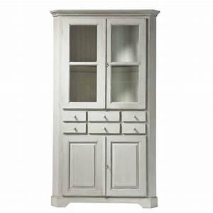 meuble d39angle saint remy encoignure maisons du monde With ordinary meuble d angle maison du monde 0 meuble angle bois